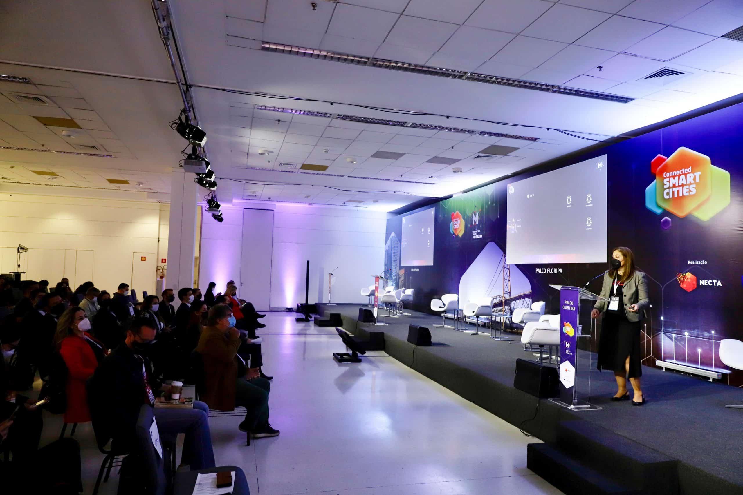 Cerimônia de abertura Connected Smart Cities & Mobility 2021 | Créditos: Kiko Sierich/ PTI